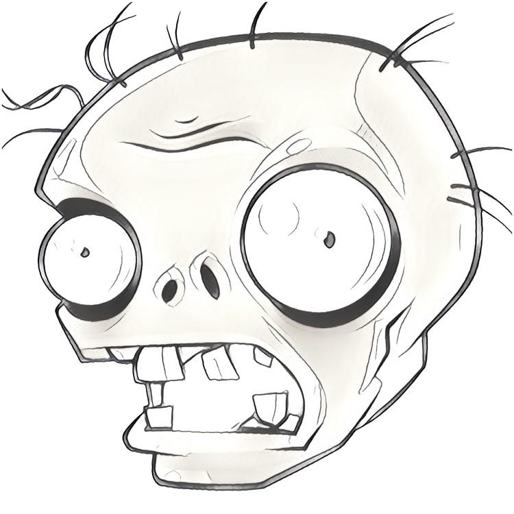 dibujo de plantas vs zombies
