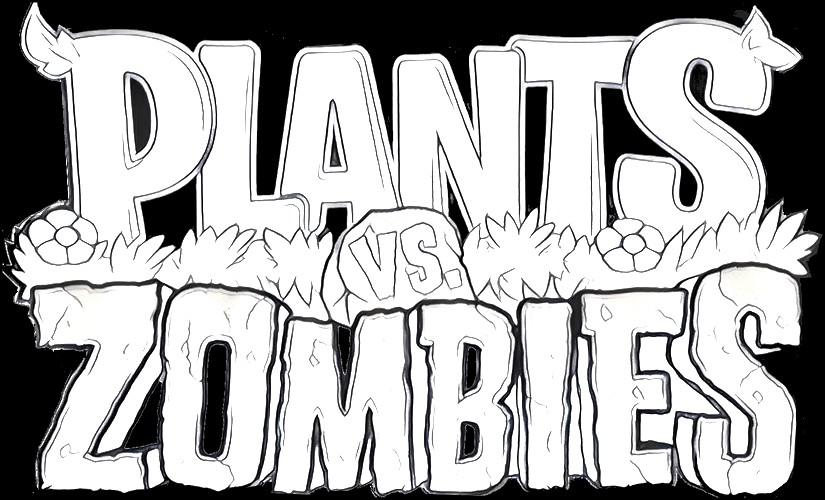 Coloring Pages For Plants Vs Zombies : Coloring pages plants vs zombies drawing