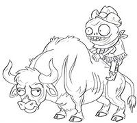 Coloring Pages Plants Vs Zombies Morning Kids