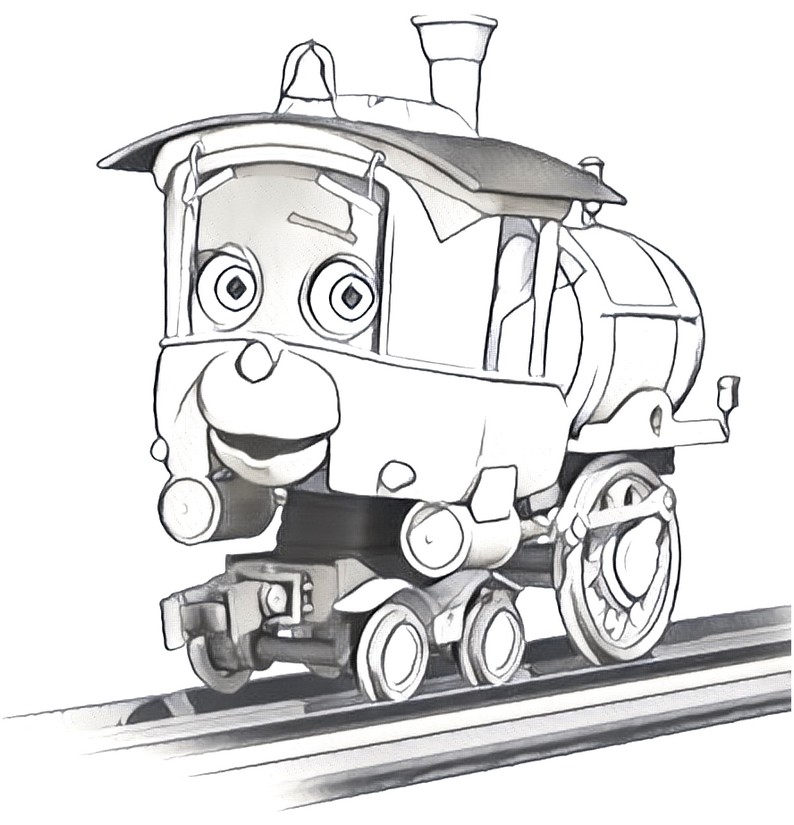 Coloring Page Chuggington Piper 3