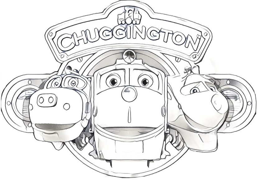 Coloring page chuggington
