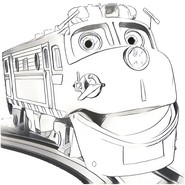 Coloring Pages Chuggington Drawing