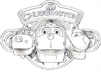 Kleurplaat Chuggington