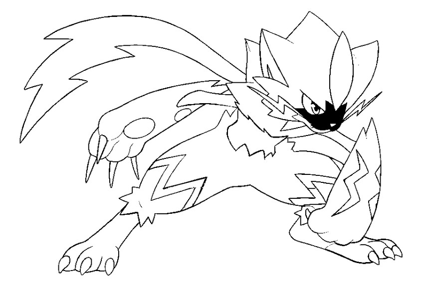 Coloring Pages Pokemon Ultra Sun And Moon Drawing