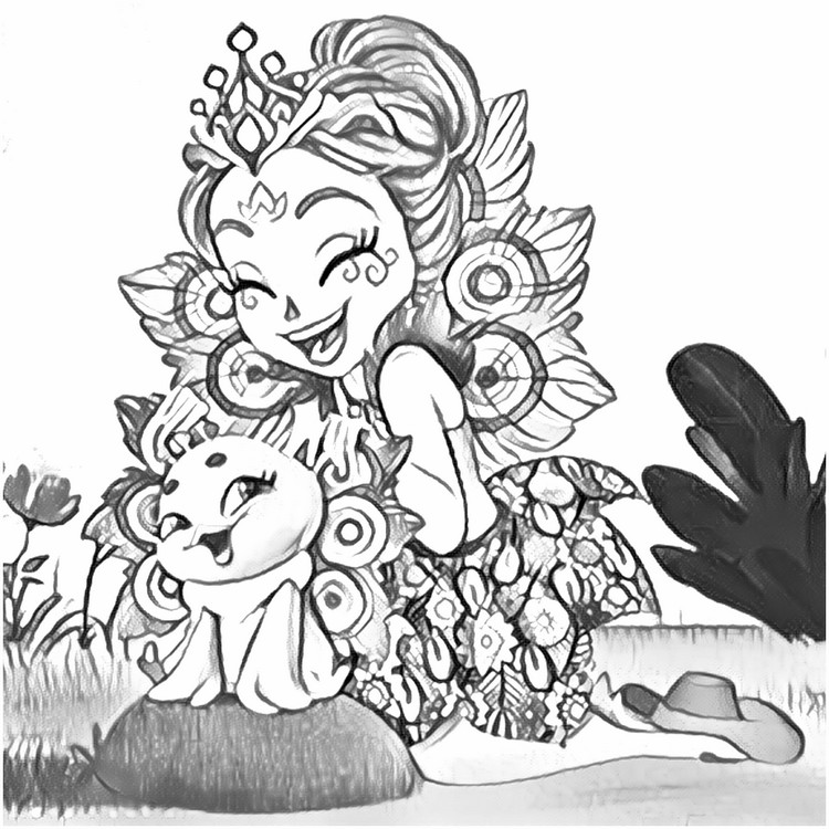 Coloring Pages Enchantimals Drawing