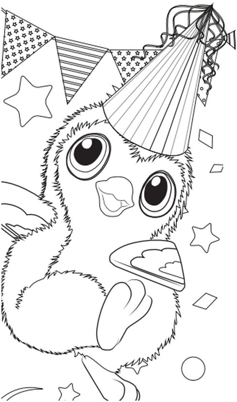Dibujos Para Colorear Hatchimals Morning Kids
