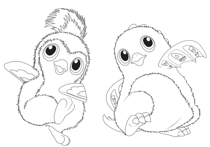Coloring Pages Hatchimals Morning Kidsrhmorningkids: Hatchimal Christmas Coloring Pages At Baymontmadison.com