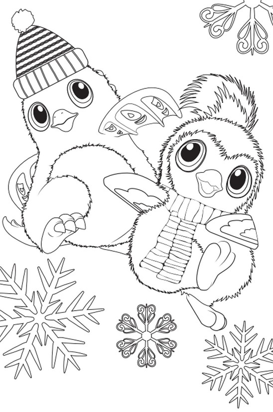 Coloring Page Hatchimals 7