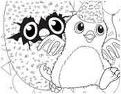 Coloring page Hatchimals