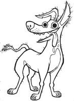 Desenho para colorir Dante