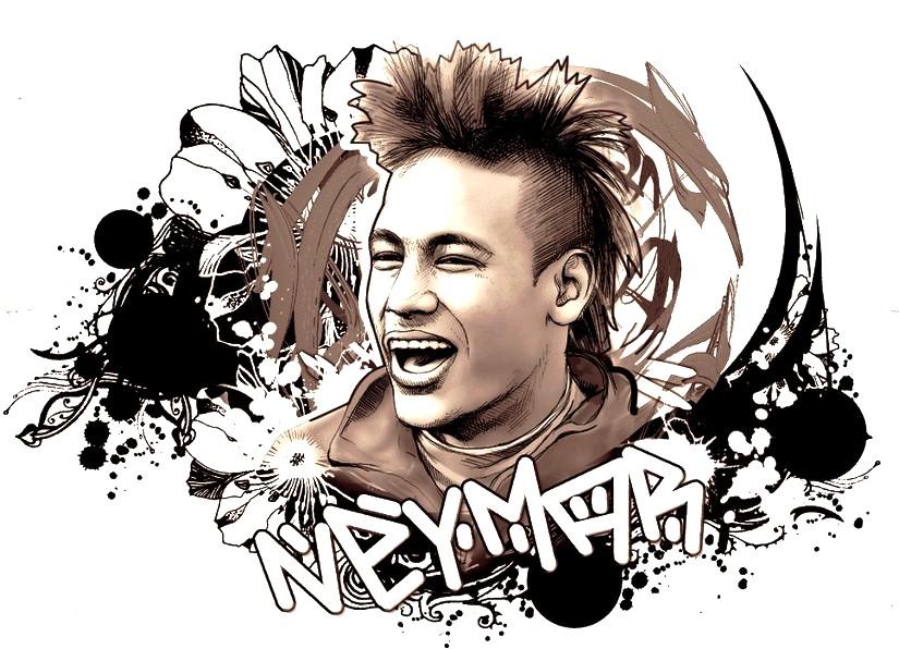 Kleurplaten Voetbal Brazilie.Kleurplaat Wereldkampioenschap Voetbal 2018 Neymar Brazilie 1