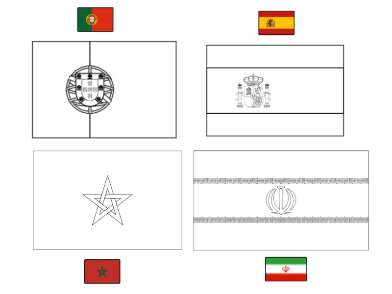 Group B: Portugal - Spain - Morocco - Iran