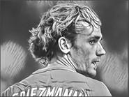 Dibujo para colorear Antoine Griezmann - Francia