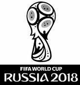 Coloring page Logo Russia 2018