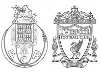 Dibujo para colorear FC Porto - Liverpool FC