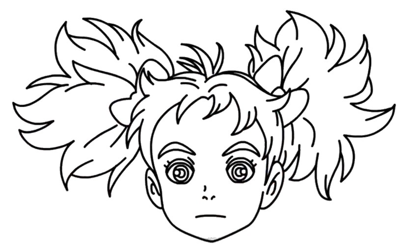 Desenho para colorir Mary and the Witch's Flower