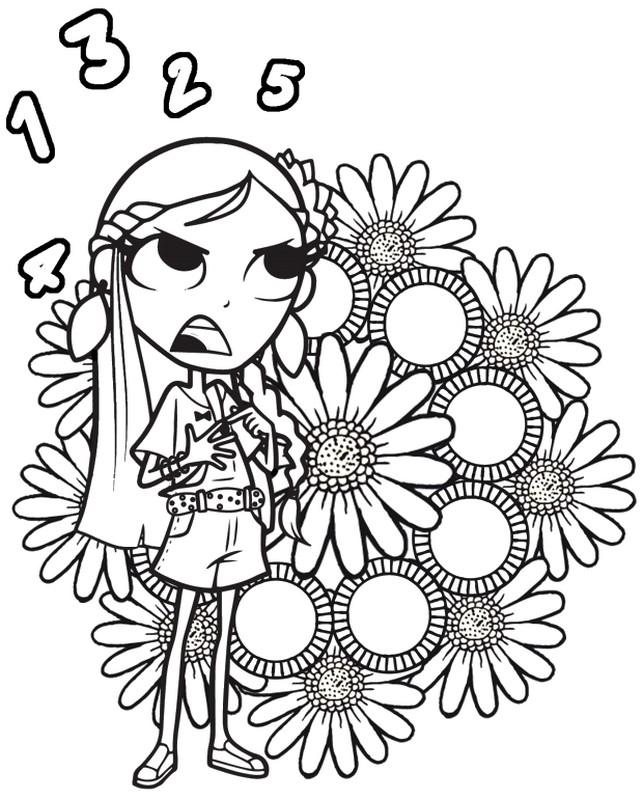 Coloring page maggie and bianca fashion friends 2 for Disegni da colorare maggie e bianca