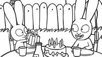 Kolorowanka Urodziny Simona
