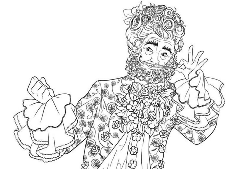 Clara Coloring Page from Disney's Nutcracker | Mama Likes This | 566x800