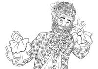 Malvorlagen König des Blumenreiches
