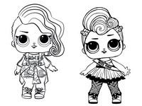 Desenhos Para Colorir Lol Surprise Bonecas Morning Kids
