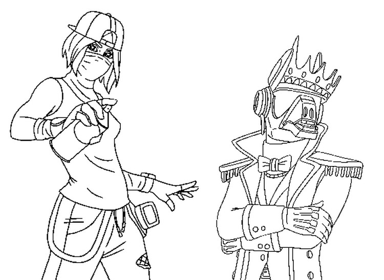 Coloring Page Fortnite Season 10 Tilted Teknique And