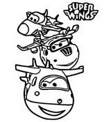 Desenhos Para Colorir Super Wings Morning Kids