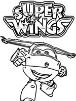 Malvorlagen Super Wings Morning Kids