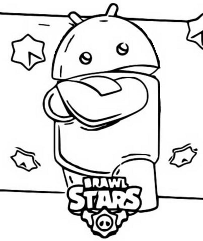 Disegno Da Colorare Brawl Stars 3