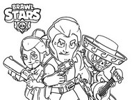 Disegni Da Colorare Brawl Stars Morning Kids