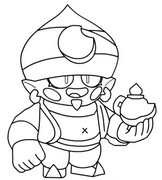 Coloring Pages Brawl Stars Morning Kids
