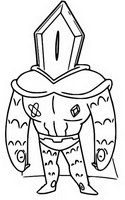 Coloring page Rhombulus