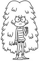 Coloring page Kelly