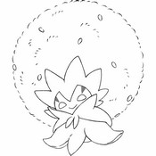 Coloring page Eldegoss