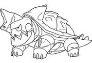 Coloring page Drednaw