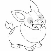 Coloring page Yamper