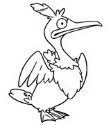 Coloring page Cramorant