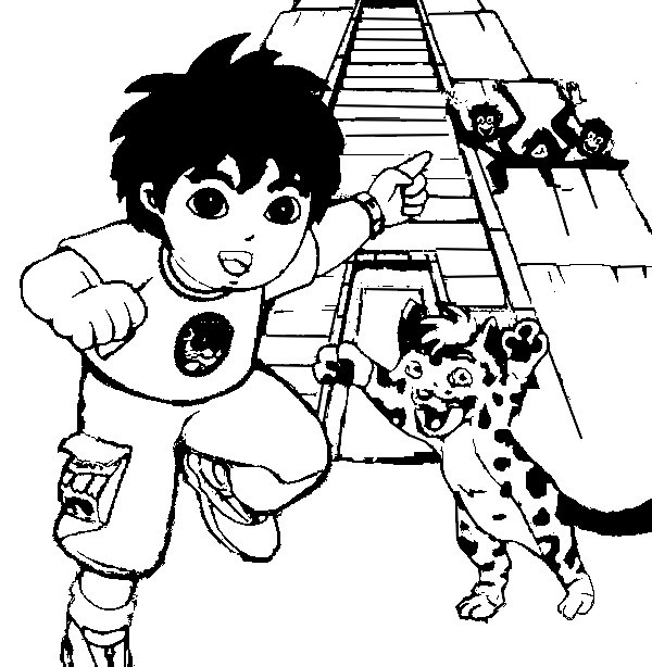 Coloring Page Diego 5