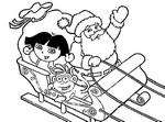 Kleurplaat Dora de verkenner
