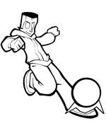 Malvorlagen Street Football