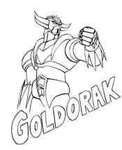 Disegno da colorare Goldrake