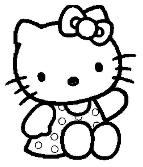Malvorlagen Hello Kitty 10