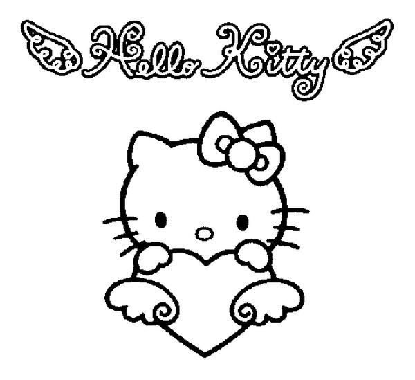 Malvorlagen Hello Kitty 8