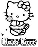 Disegno da colorare Hello Kitty