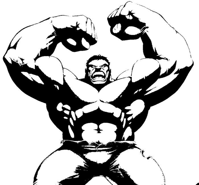 Coloring Page Hulk 11