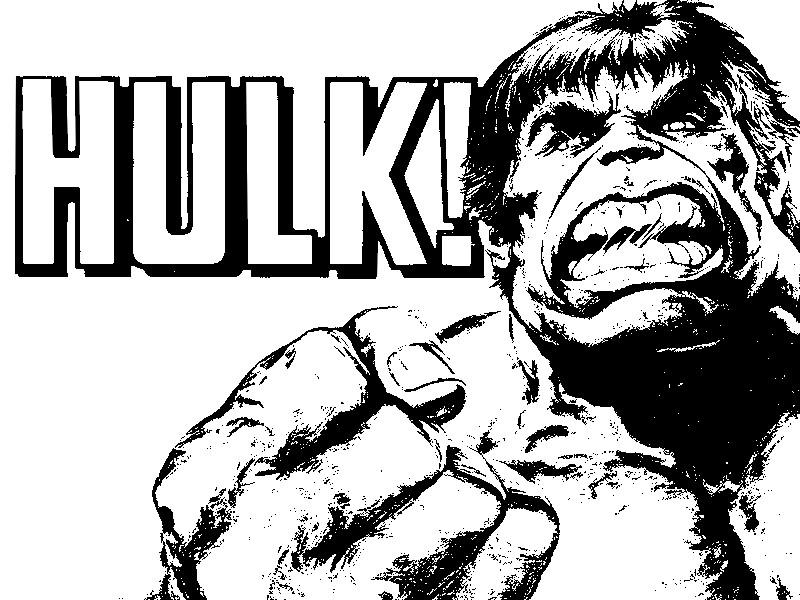 Kleurplaten De Hulk.Kleurplaat Hulk 9