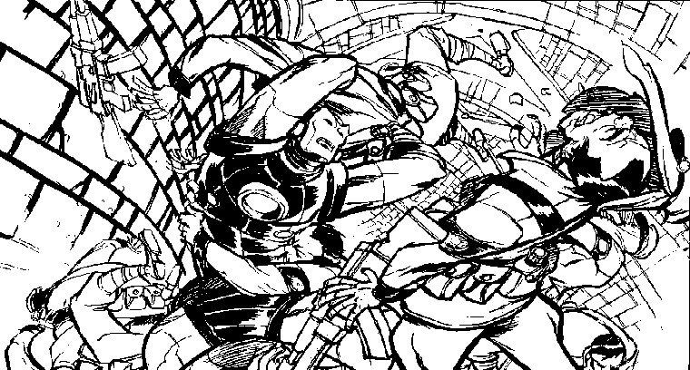Dibujo para colorear iron man 4 - Coloriage ironman ...