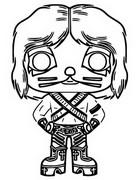 Dibujo para colorear Kiss - Catman