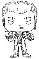 Coloring page Billy Idol