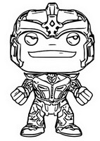 Dibujos Para Colorear Funko Pop Marvel Morning Kids